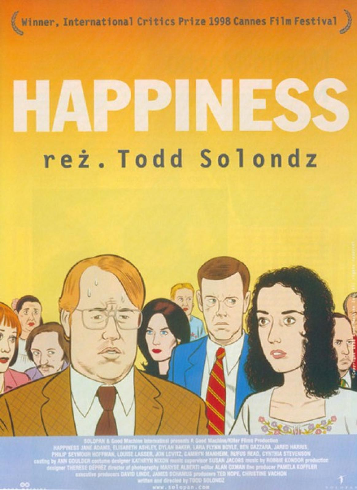 "KINO LPM – ""Happiness"" , reż. Todd Solondz"