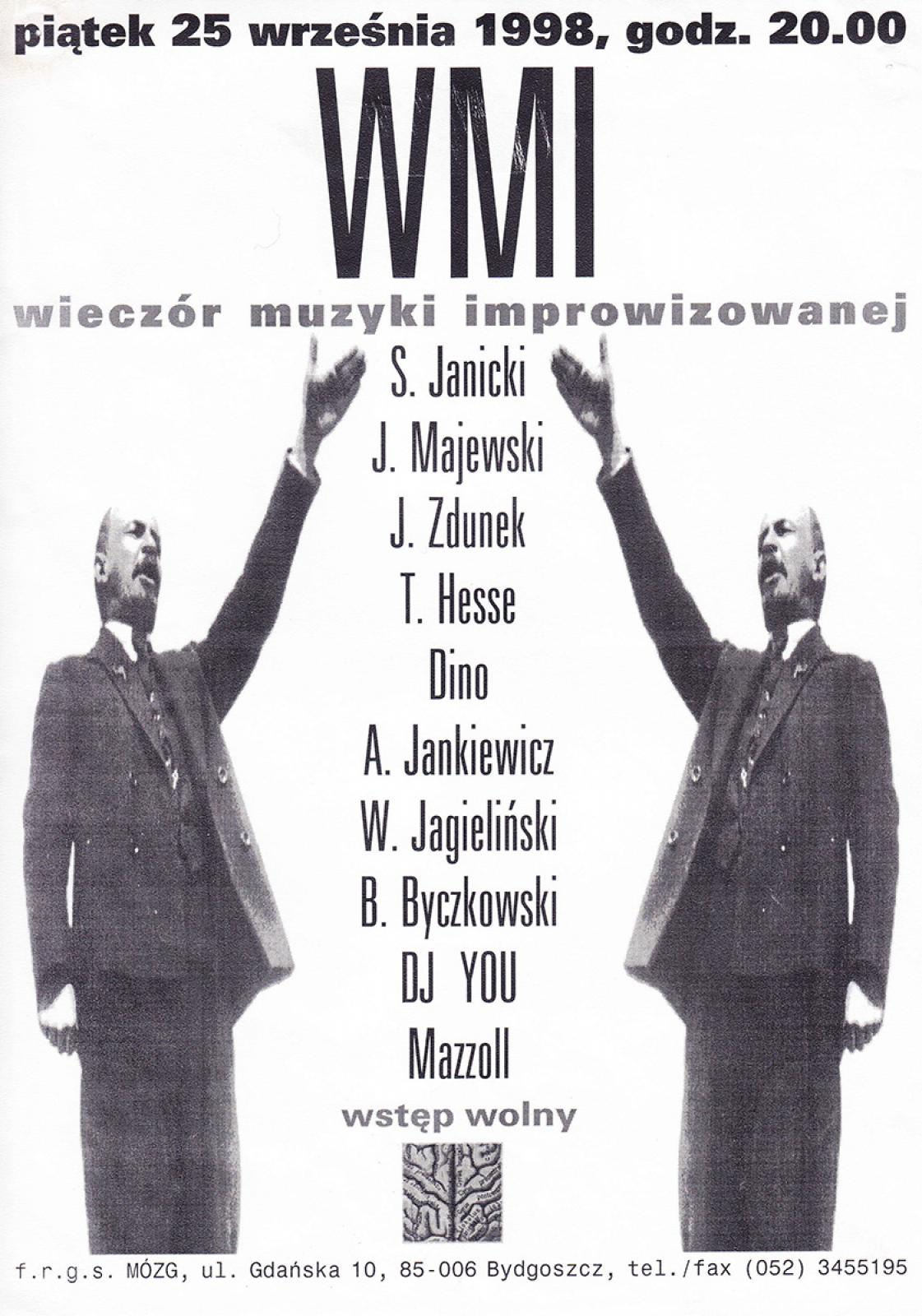 WMI - Wieczór Muzyki Improwizowanej