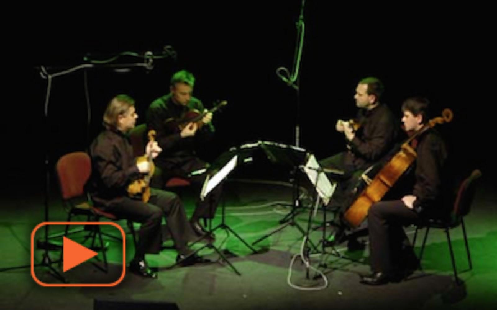 Kwartet pomorski + wizualizacje Maciej Walczak - fragment koncertu 2007