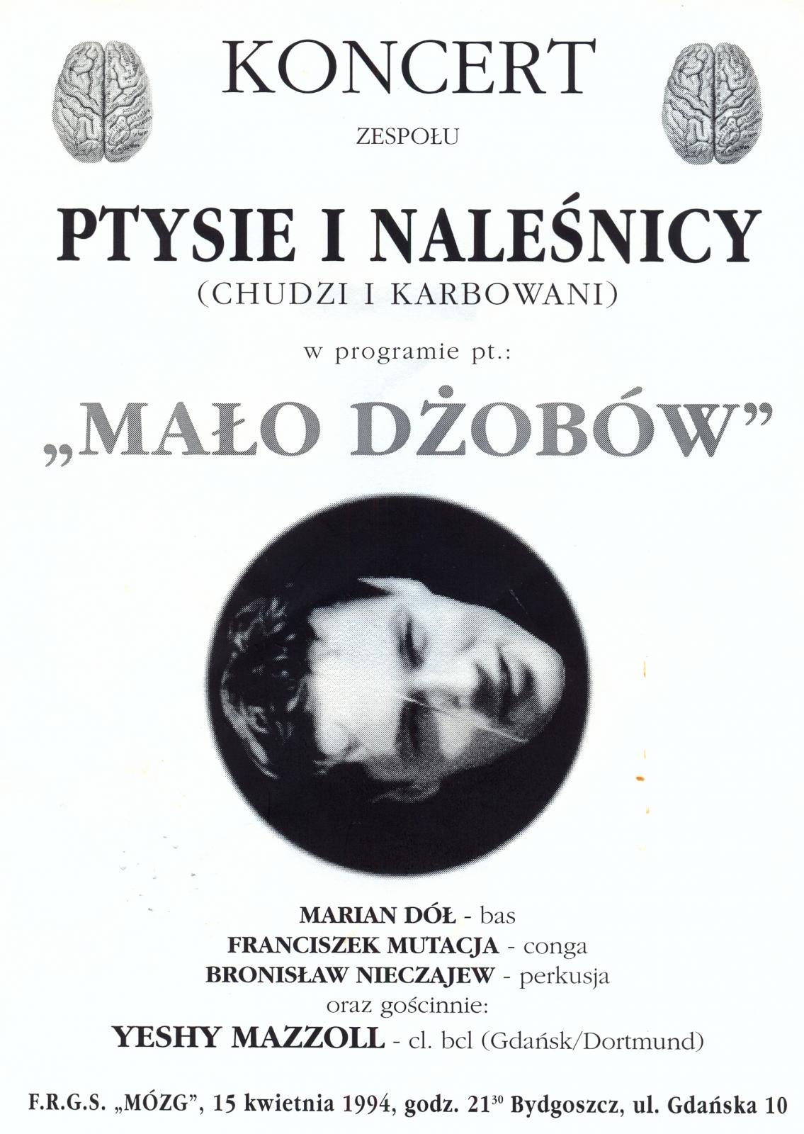 """Ptysie i Naleśnicy (Chudzi i Karbowani) - """"Mało Dżobów"""""""
