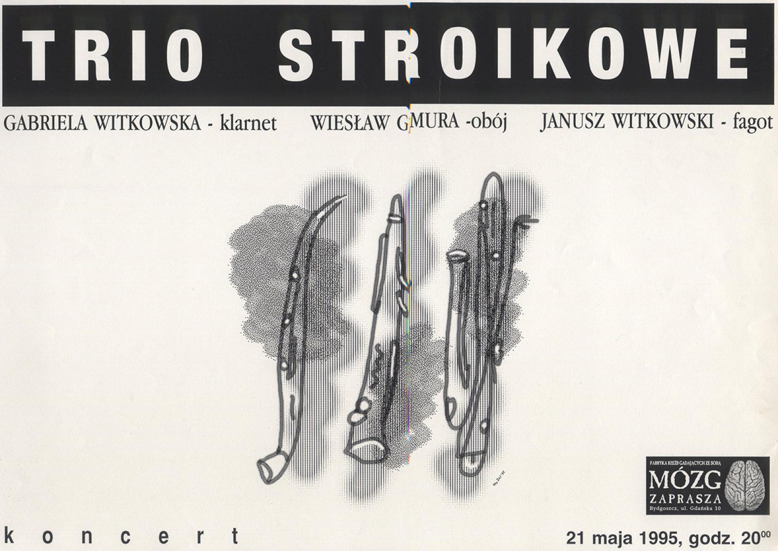 Trio stroikowe: Gabriela Witkowska / Wiesław Gmura / Janusz Witkowski