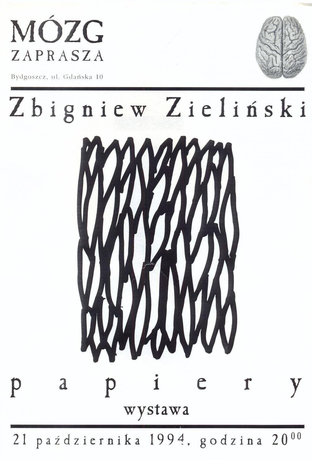 """Zbigniew Zieliński (ZbyZiel) """"Papiery"""""""