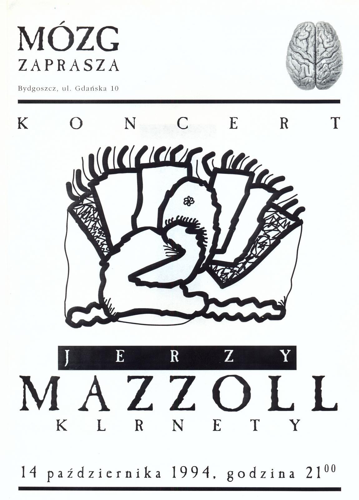 """Jerzy Mazzoll - klarnet basowy """"Jeden dźwięk"""""""