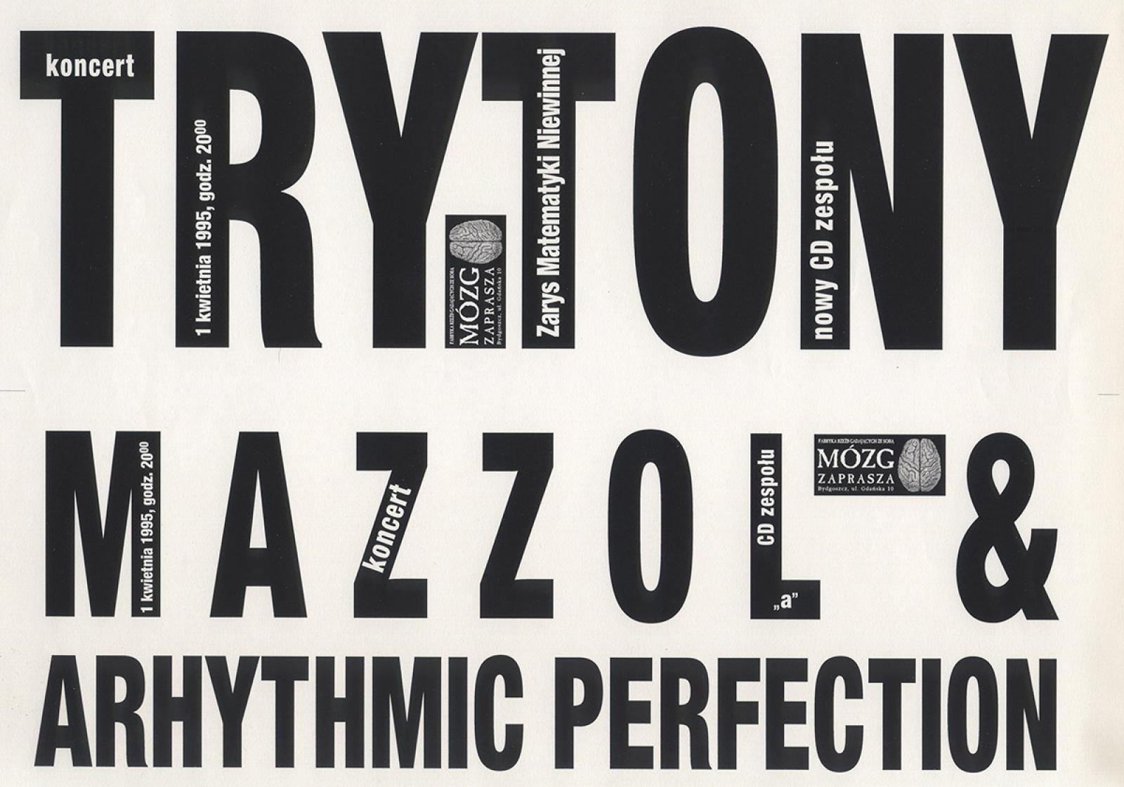 Mazzoll & Arhythmic Perfection, Trytony,  Krzysztof Junosza Dowgiałło