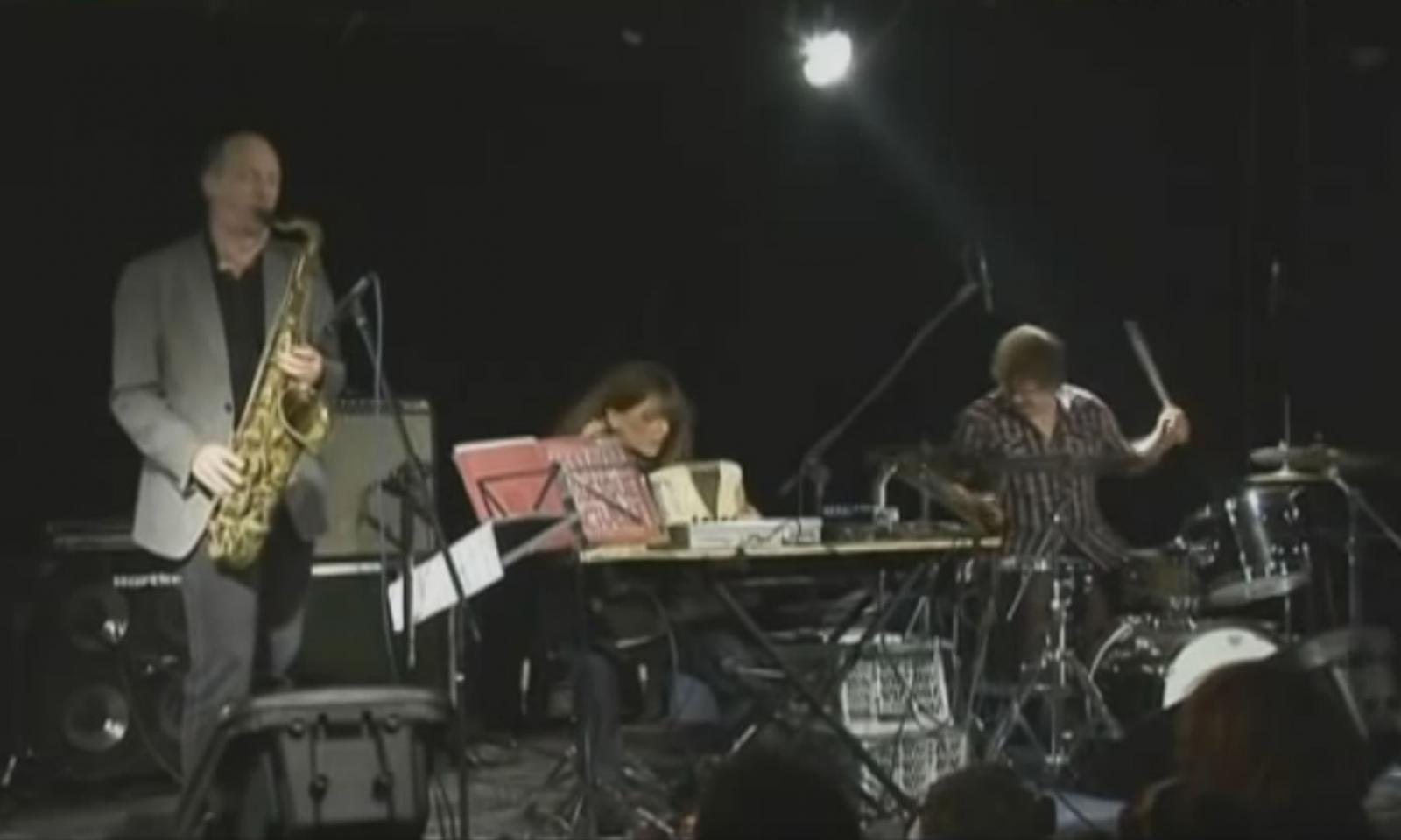 Ellery Eskelin, Andrea Parkins & Jim Black - fragment koncertu