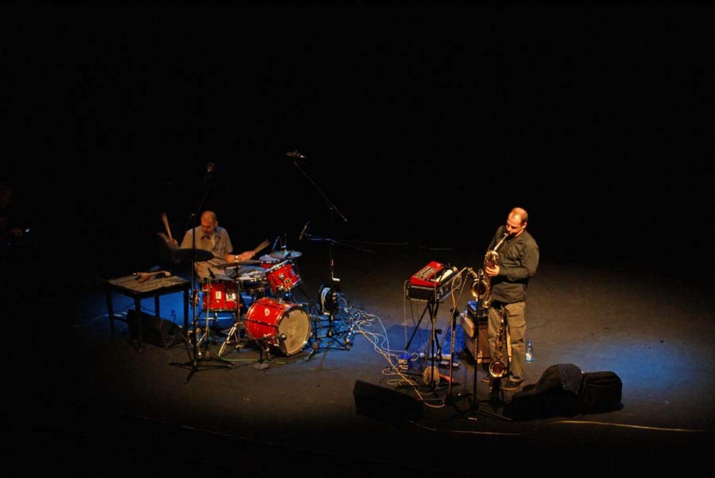 Tomasz Glazik & Jacek Buhl, fragment koncertu, 2007