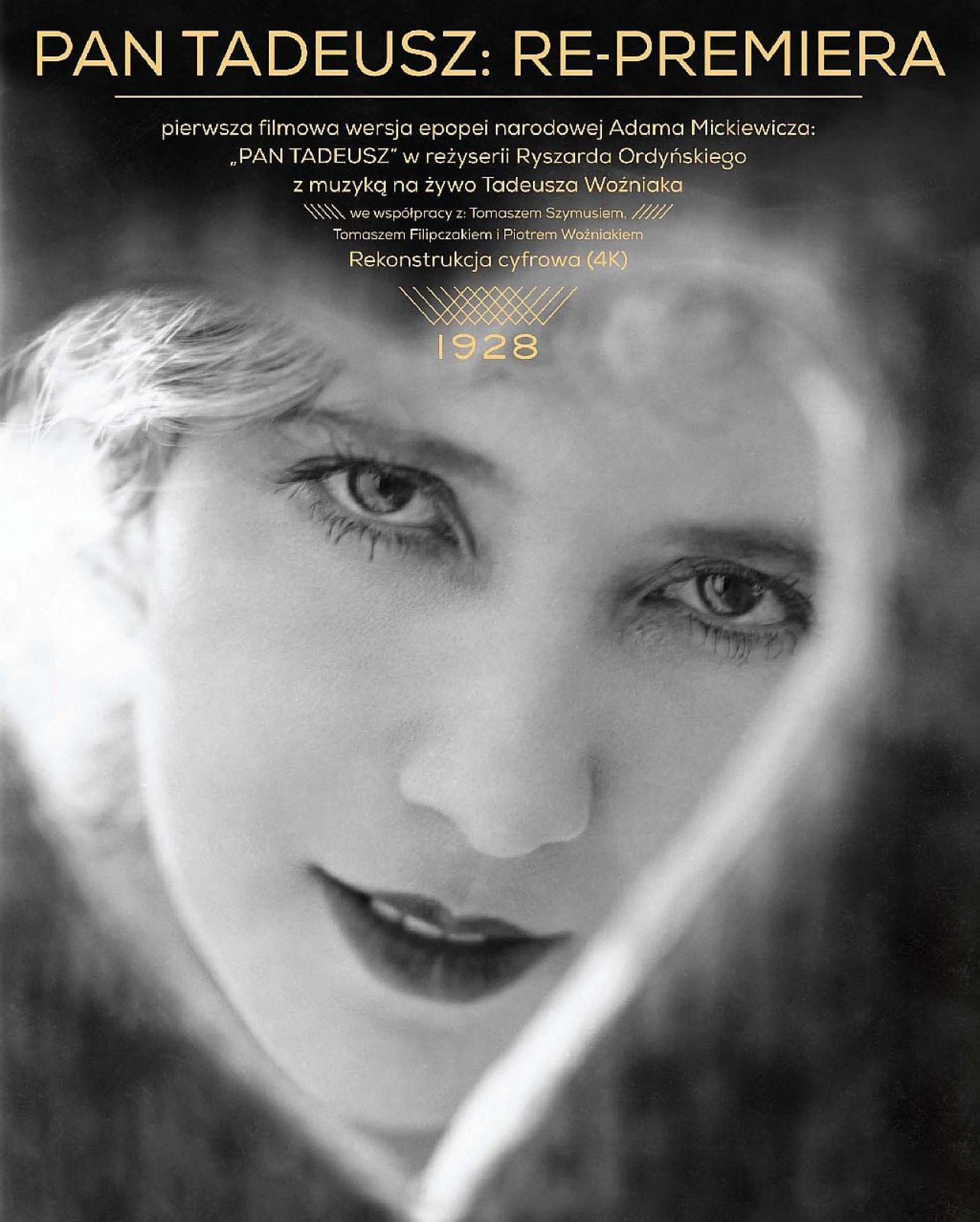 PLENEROWE KINO W MÓZGU - Pan Tadeusz (film niemy z 1928)