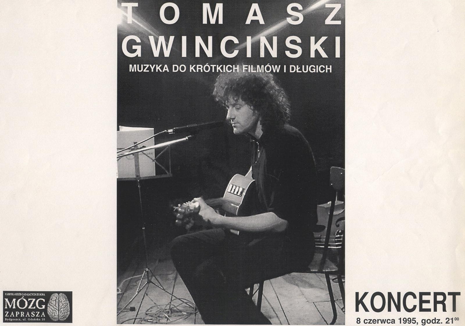 """Tomasz Gwinciński - """"Muzyka do krótkich filmów i długich"""""""