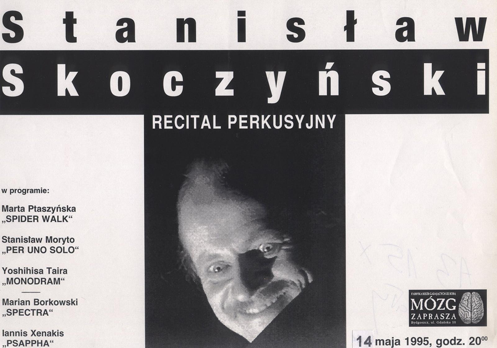 Stanisław Skoczyński – recital perkusyjny