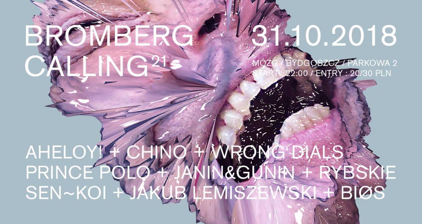 Bromberg Calling No. 21