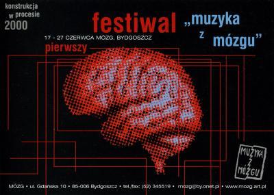 Pierwszy Festiwal Muzyka z Mózgu - pocztówka