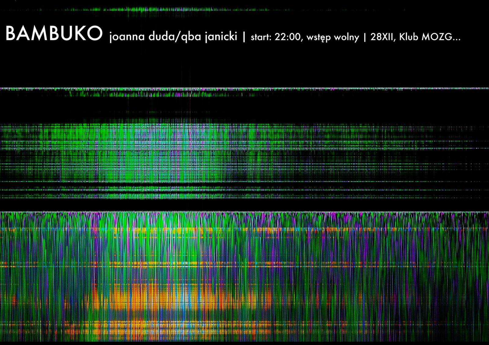 BAMBUKO (Joanna Duda/Qba Janicki) - koncert