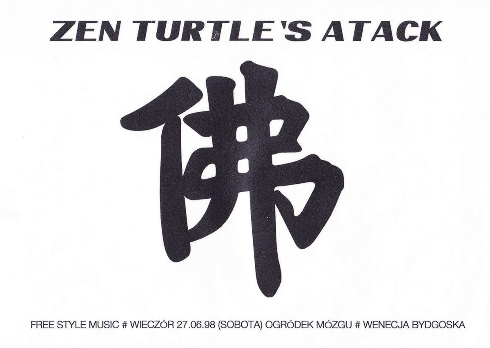 "Adam Kruk ""Zen Turtle`s Attack"" – wieczór free style music"