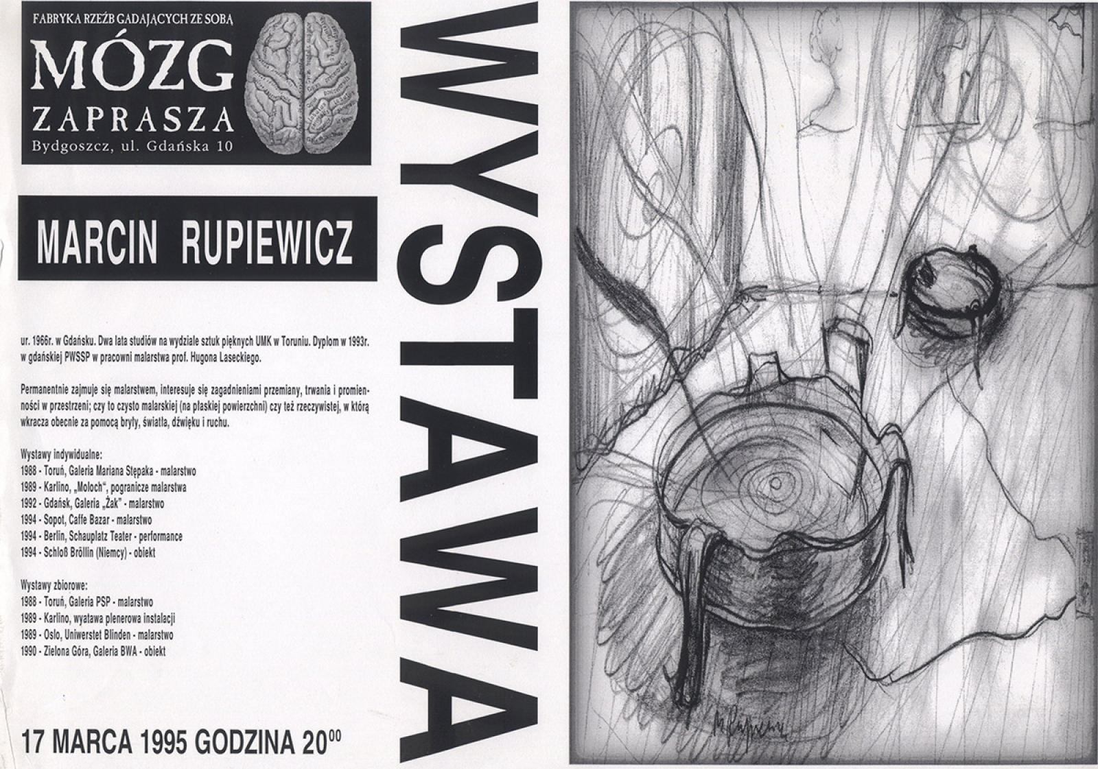 Marcin Rupiewicz - wystawa malarstwa