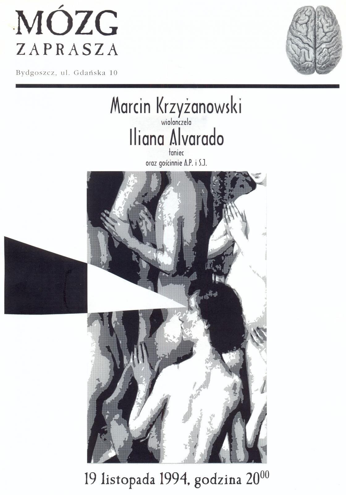Marcin Krzyżanowski &amp; Iliana Alvarado<br /><br /> gościnnie Andrzej Przybielski i Sławek Janicki