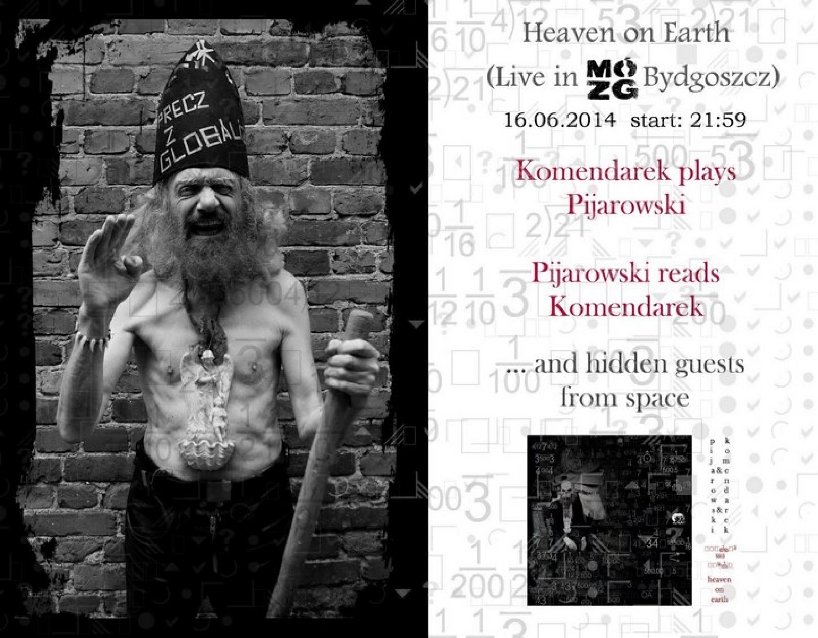 KOMENDAREK PLAYS PIJAROWSKI PIJAROWSKI READS KOMENDAREK – koncert/sesja nagraniowa