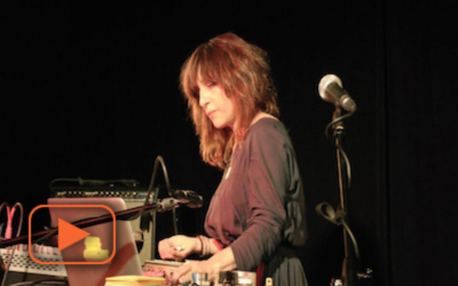 Andrea Parkins - fragment koncertu