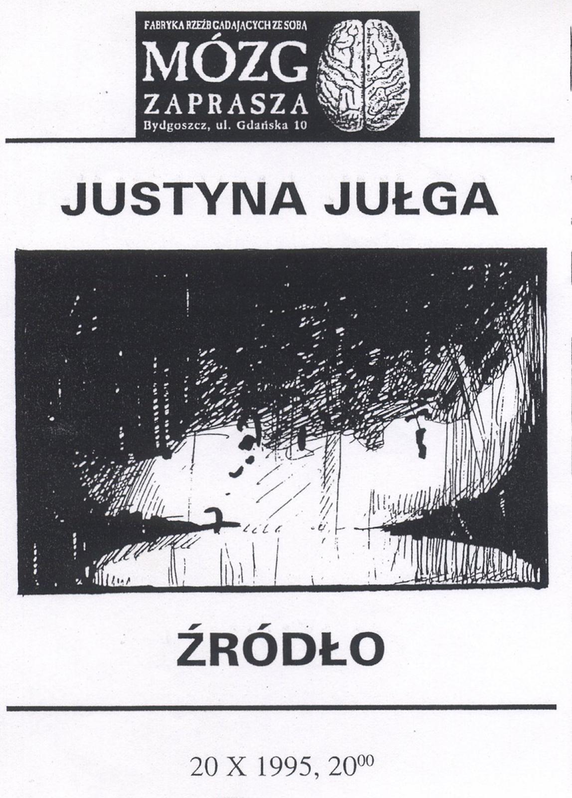 Justyna Jułga - Źródło