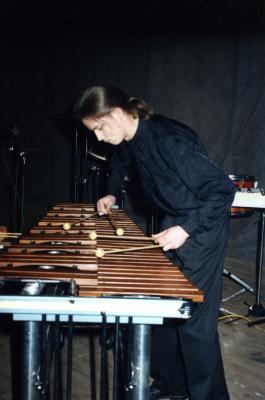 Grupa perkusyjna pod kierownictwem Grzegorza Jurczyka-1995-03-05004.jpg