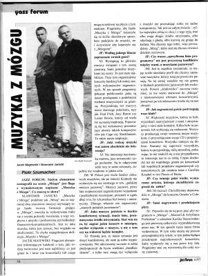 Strona Jazz Forum 1997/6