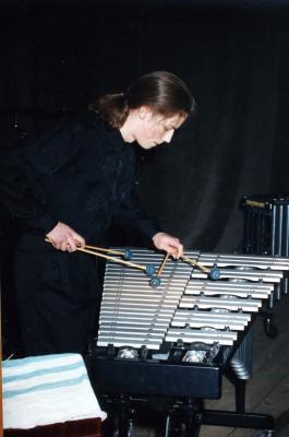 Grupa perkusyjna pod kierownictwem Grzegorza Jurczyka-1995-03-05002.jpg