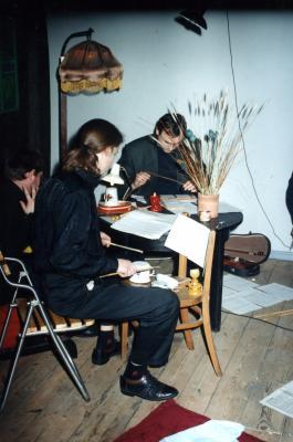 Grupa perkusyjna pod kierownictwem Grzegorza Jurczyka-1995-03-05003.jpg